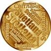 Česká jména - Světlana - velká zlatá medaile 1 Oz