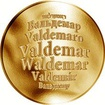 Česká jména - Valdemar - zlatá medaile