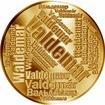 Česká jména - Valdemar - velká zlatá medaile 1 Oz