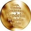 Česká jména - Vendelín - zlatá medaile