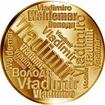 Česká jména - Vladimír - velká zlatá medaile 1 Oz