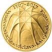Vysvěcení kaple sv. Václava v katedrále sv. Víta - 650. výročí zlato b