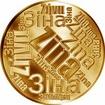 Česká jména - Zina - velká zlatá medaile 1 Oz