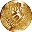 Česká jména - Zoja - velká zlatá medaile 1 Oz