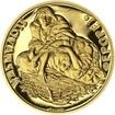 Alfons Mucha - 70 let úmrtí - 1/2 Oz zlato b.k.