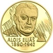 Alois Eliáš - 1 Oz zlato Proof