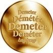 Slovenská jména - Demeter - zlatá medaile