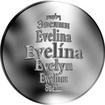 Česká jména - Evelína - stříbrná medaile