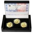 JIŘÍ TRNKA – návrhy mince 500 Kč - sada 3x zlato b.k.