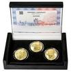 JOSEF BOŽEK – návrhy mince 200 Kč - sada 3x zlato b.k.