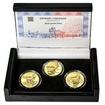 KAREL JAROMÍR ERBEN – návrhy mince 500 Kč - sada 3x zlato Proof