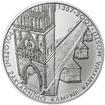 650 let od položení základního kamene Karlova mostu Ag 1 Oz b.k.