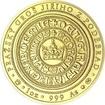 550 let od korunovace Jiřího z Poděbrad českým králem - zlato b.k.