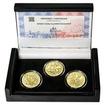 ZAHÁJENÍ VÝUKY NA PRAŽSKÉ KONZERVATOŘI – návrhy mince 200 Kč - sada 3x zlato Proof