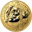 Relikvie sv. Václava - vzor 1 -  1/2 Oz zlato REVERSE Proof