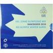 3.88 EUR CuNi Kursset Slovensko: 2010 Vancouver OSN