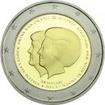 2 Euro Mince Královna Beatrix a korunní princ Willem Alexander PP