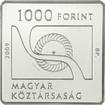 1000 forintů Mince vodní turbína Banki Donat PP