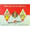 5.88 EUR CuNi Kursset Monaco: 2011 UN