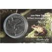 5 dolarů Mince Žába (Leiopelma hamiltoni)