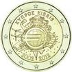 2 Euro CuNi 10 let Euro Cash OSN