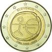 2 Euro CuNi 10 roků Evropské hospodářské a měnové unie OSN