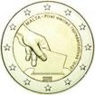 2 Euro Mince Volby 1849 na Maltě