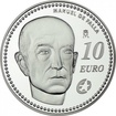 10 Euro Silber Komponisten - Manuel de Falla PP