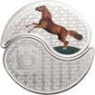 2 Dollar Stříbrná mince Rok koně - Ying Yang PP