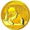 Zlatá mince Panda 1/2 Oz - 2015