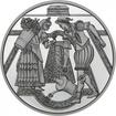 10 Euro Stříbrná mince Hradní nádvoří PP