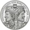 10 Euro Stříbrná mince Znovuotevření hradu a opery PP