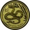 15 Dolarů Zlatá mince Rok hada - 1/10 Oz PP