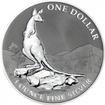 1Dolar Stříbrná mince Klokan - První pozorování