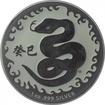 1 Dolar Stříbrná mince Rok hada 2013 1 Oz PL