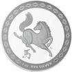 1 Dolar Stříbrná mince Rok koně 2014 1 Oz