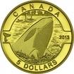 5 dolarů Zlato O Canada - Orca OSN