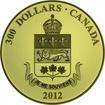 300 dolarů Gold Crest - Quebec PP