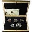 1,41 dolarů Sada stříbrných mincí k 75. výročí Voyageur stříbrného dolaru
