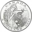 5 dolarů Stříbrná mince Tradice lovu - Zvěř PP