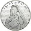 30 dolarů Silver Vimy památník PP