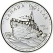 Stříbrná mince 100. výročí kanadského námořnictva UN