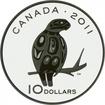 10 dolarů Stříbrná mince Sokol stěhovavý PP