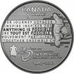 5 dolarů stříbrné 25. výročí Rick Hansen - Man in Motion Tour PP