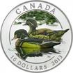10 dolarů Stříbrná mince Kanadské kachny - Kachnička karolínská PP