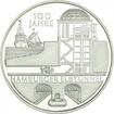 10 Euro Stříbrná mince 100 let hamburského tunelu Labe PP