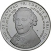 10 Euro Stříbrná mince Fridrich Veliký PP