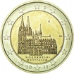 2 Euro CuNi Kolínská katedrála OSN