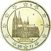 2 Euro CuNi Kolínská katedrála F OSN