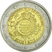 2 Euro CuNi 10 let Euro Cash J OSN